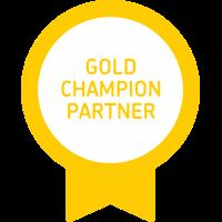 Xero Gold Champion Partner Badge